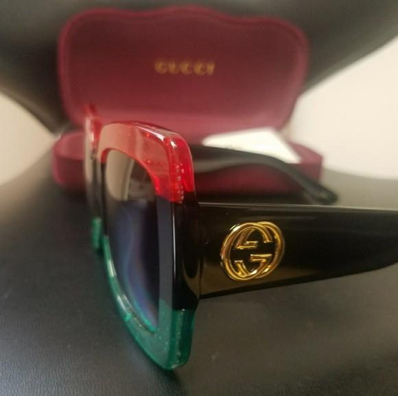 88b27ec7be7b2a Gucci Accessories   Oversized Gg0083s 001 55 24140 Sunglasses   Poshmark